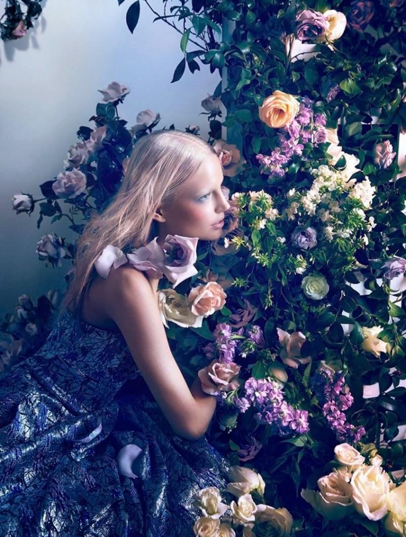 Elisabeth Erm by Camilla Akrans for Dior Magazine No.5