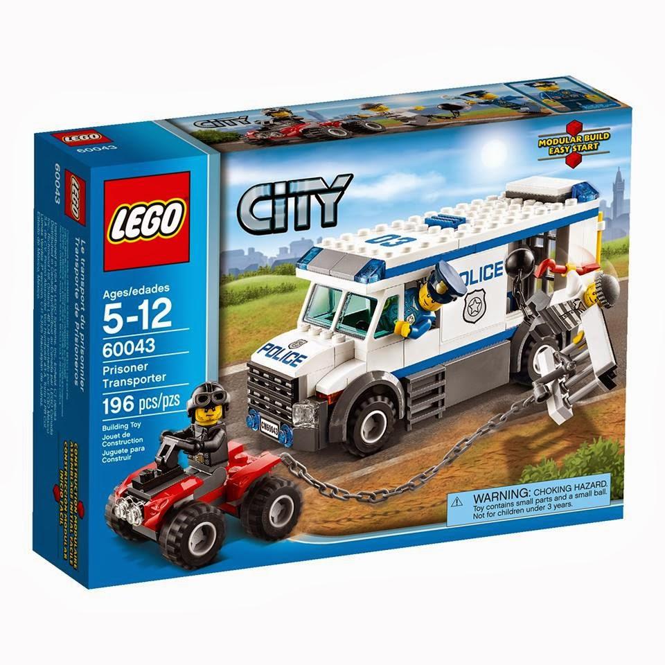 Detoyz shop 2014 lego city police town sets - Lego camion police ...