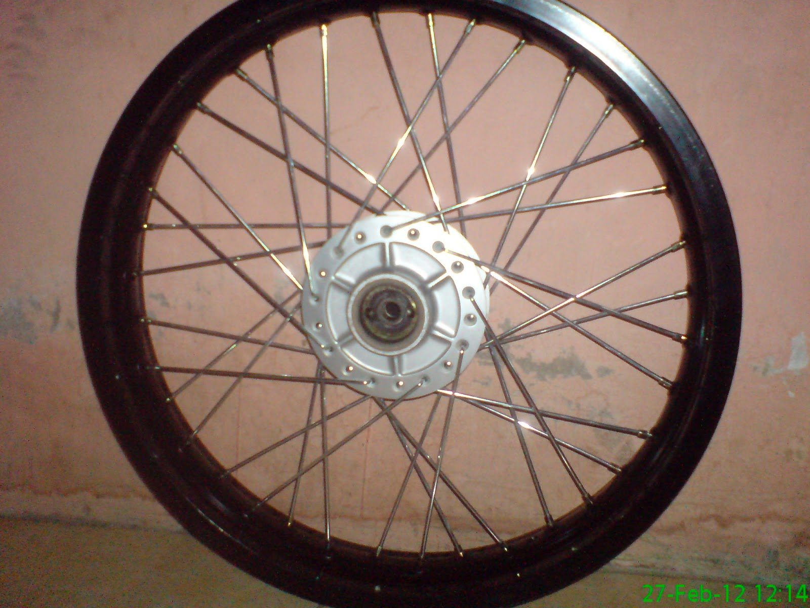 Velg Champ Black