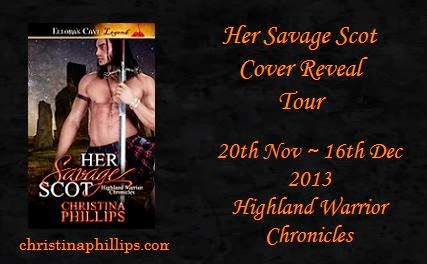 Her Savage Scot Cover Reveal Tour