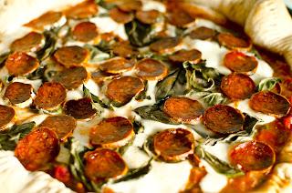 Chorizo Navarre Whole Wheat Pizza