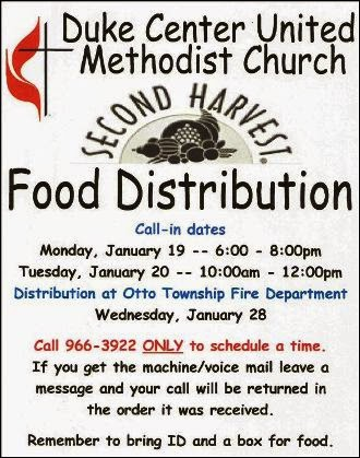 2-19/20 Second Harvest Food Distribution