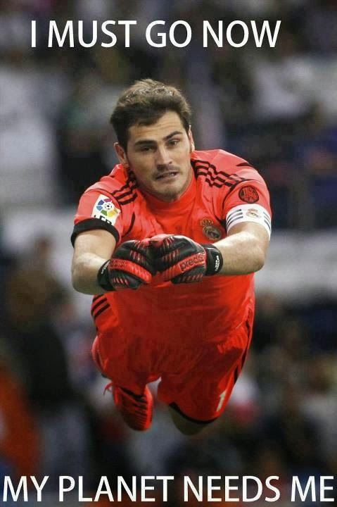 Casillas = Superman?