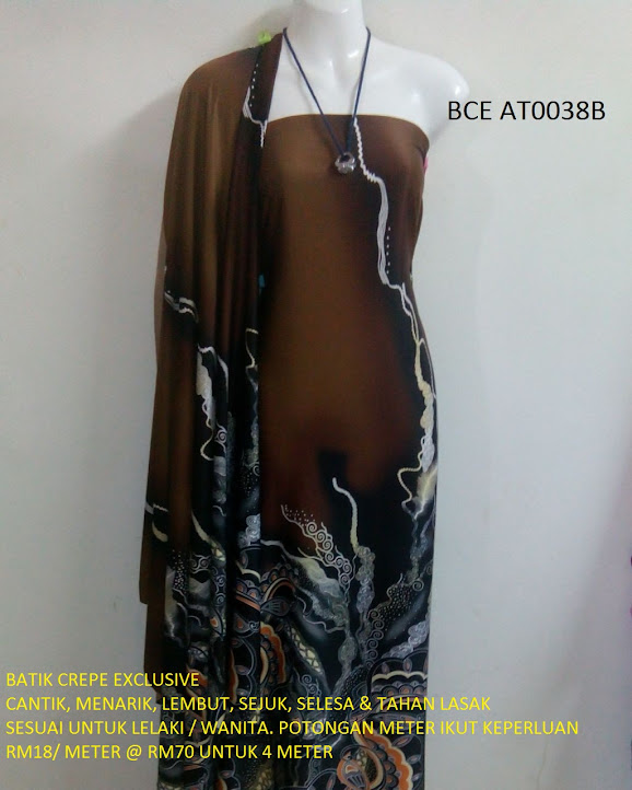 BCE AT0038B: BATIK CREPE EXCLUSIVE