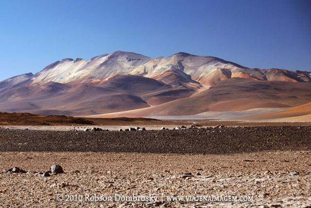 montanhas coloridas em sud lipez bolivia