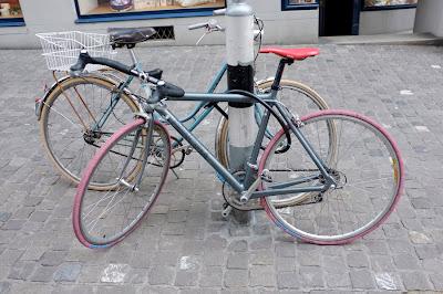 bici, bicicleta, urbana, cuidad, carretera, pincipia, 700, manillar, bullhorn, bike, shimano