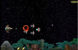 Galactic Plunder, naves espaciales