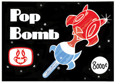 Comicpalooza Exclusive Pop Bomb Edition Curiosity Resin Figure Artwork by Nathan Hamill