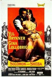 Watch Solomon and Sheba Online Free 1959 Putlocker