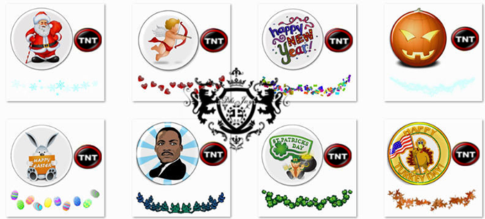 NBA 2K14 Holiday Game Icons TNT Mod
