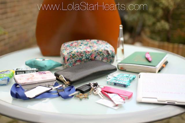 whats in my handbag blog zara shopper bag leather brown