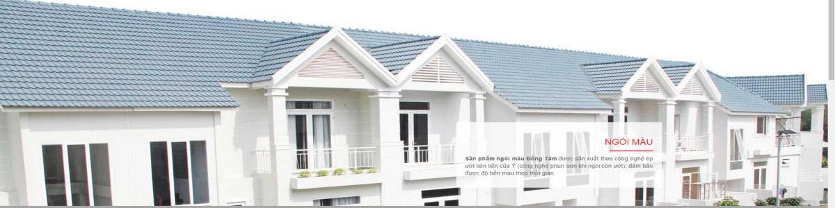 Giá ngói Đồng Tâm lợp nhà rẻ nhất 9.800đ/viên -0902369078