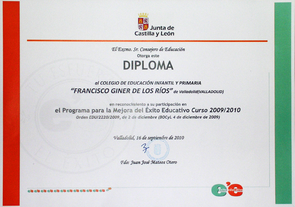 Diploma De Participacion