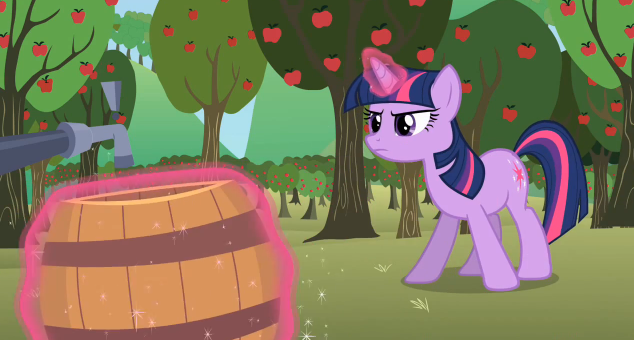 An Odyssey to Canterlot: The Super Speedy Cider Squeezy 6000