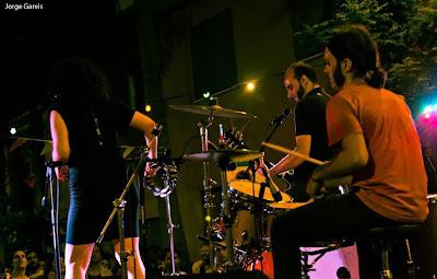 The Hitbacks grupo banda 2013