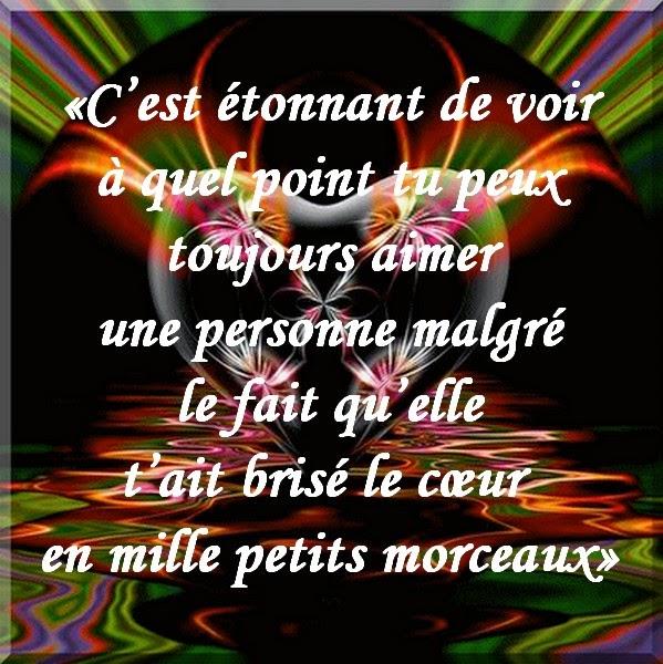 Souvent Message d'Amour et d'Amitié: Carte et texte Amour douloureux  TP78