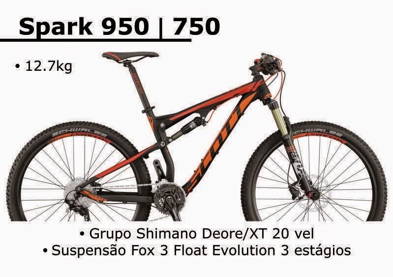 Bicicleta Scott Spark 950 2015