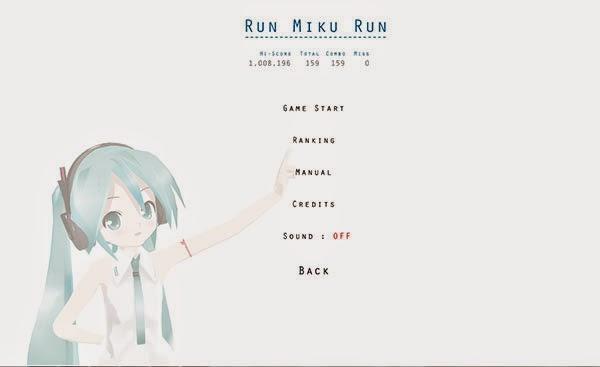 Mengasah kemampuan ketikmu dengan Game Hatsune Miku