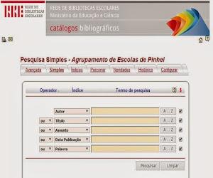 Bibliotecas Escolares- Catálogo Online