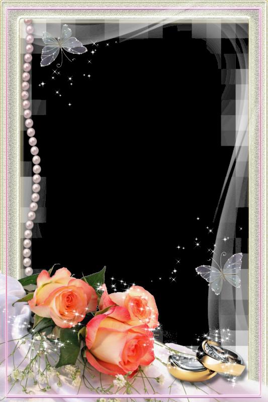 Elegantes Marcos para Fotos de Boda o Matrimonio ~ Marcos Gratis ...