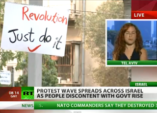 Real Democracy NOW Israel, Israel Tent-Camps, Israel Take The Square, Mass Protests on Israel Cities, Russia Today Video, Israel Cities, Israel, World Revolution, Revolution, Real Democracy Now, Democracy, Acampadas