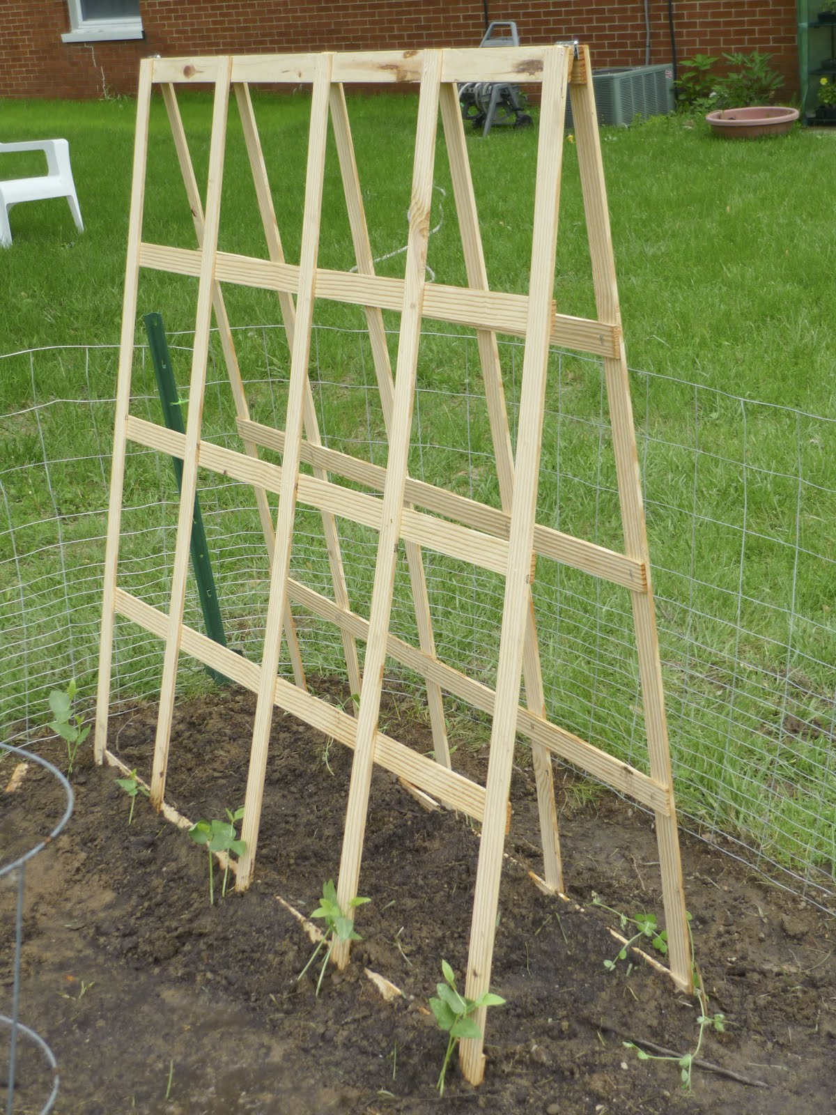 Build A Vegetable Garden Trellis 2017 2018 Best Cars Reviews
