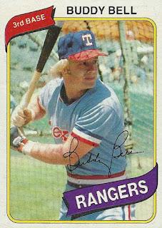 1980 Topps – Buddy Bell.