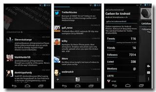 Aplikasi Twitter Untuk Android - Carbon For Twitter