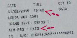 peniaga online penipu dengan memalsukan resit bayaran deposit tunai