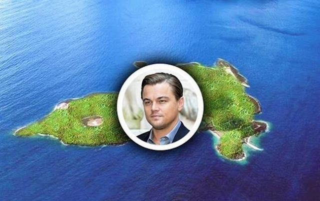 Leonardo DiCaprio Private Island