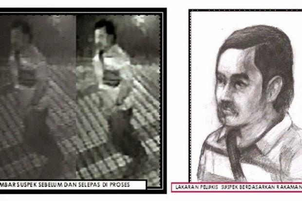 Gambar Suspek Pengebom Bukit Bintang