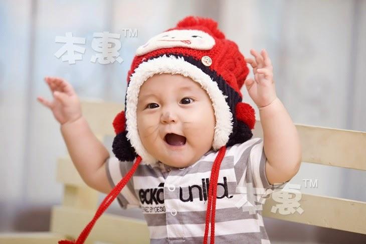 bayi keren pakai topi