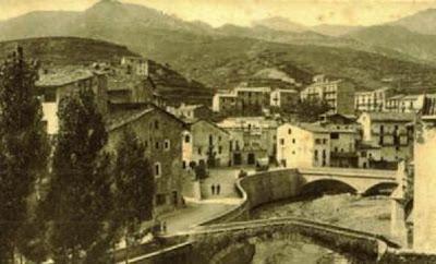 La Pobla de Lillet en los años 50