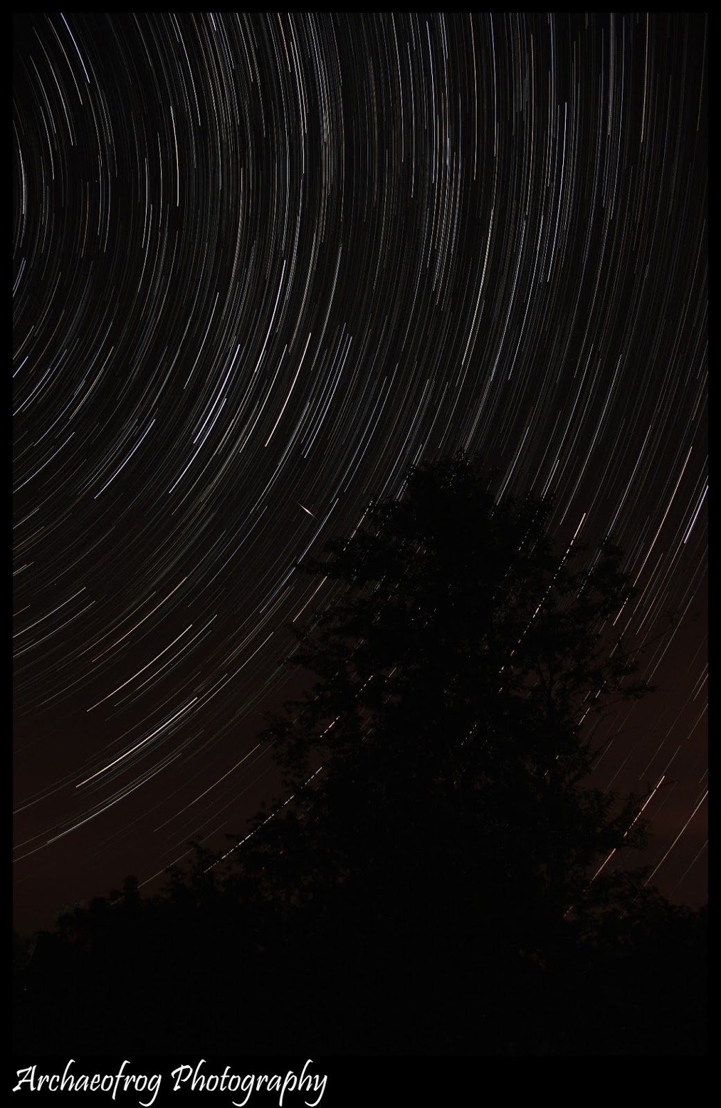 Star Trails created by Stacking | Boost Your Photography
