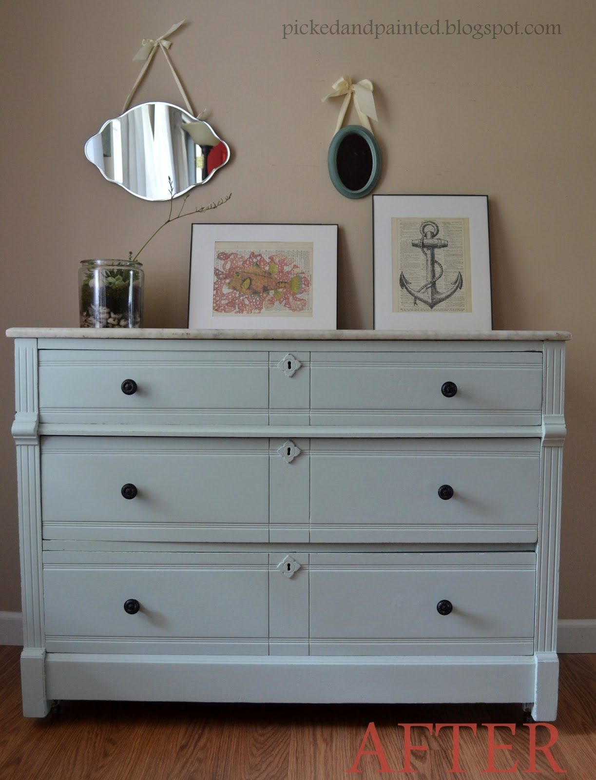 Marble Dresser In Babbling Brook