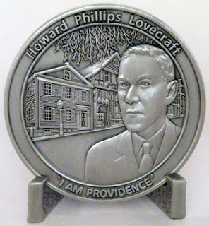 H.P. Lovecraft Commemorative Coin, fronte