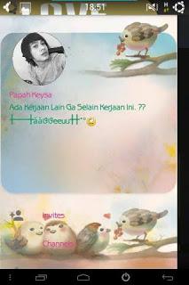 BBM Mod Love Bird Themes Versi 2..10.0.35 apk Terbaru