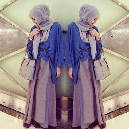 Foto Model Jilbab Terbaru Zaskia Adya Mecca 2014 Gaya Baju Muslim
