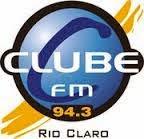ouça Rádio Clube FM 94,3 Rio Claro SP