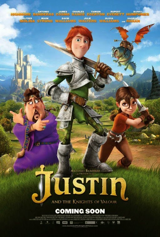 Justin and the Knights of Valour (2013) จัสติน อัศวินวัยเกรียน [HD]