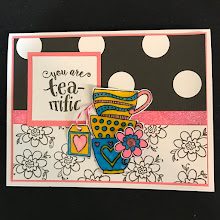 March Stamp of the Month Card