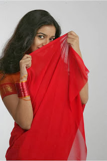 Swathi In Red Saree