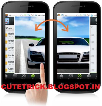 Micromax Swipe 'n' share app leaked | CuteTrick