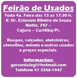 FEIRÃO DE USADOS