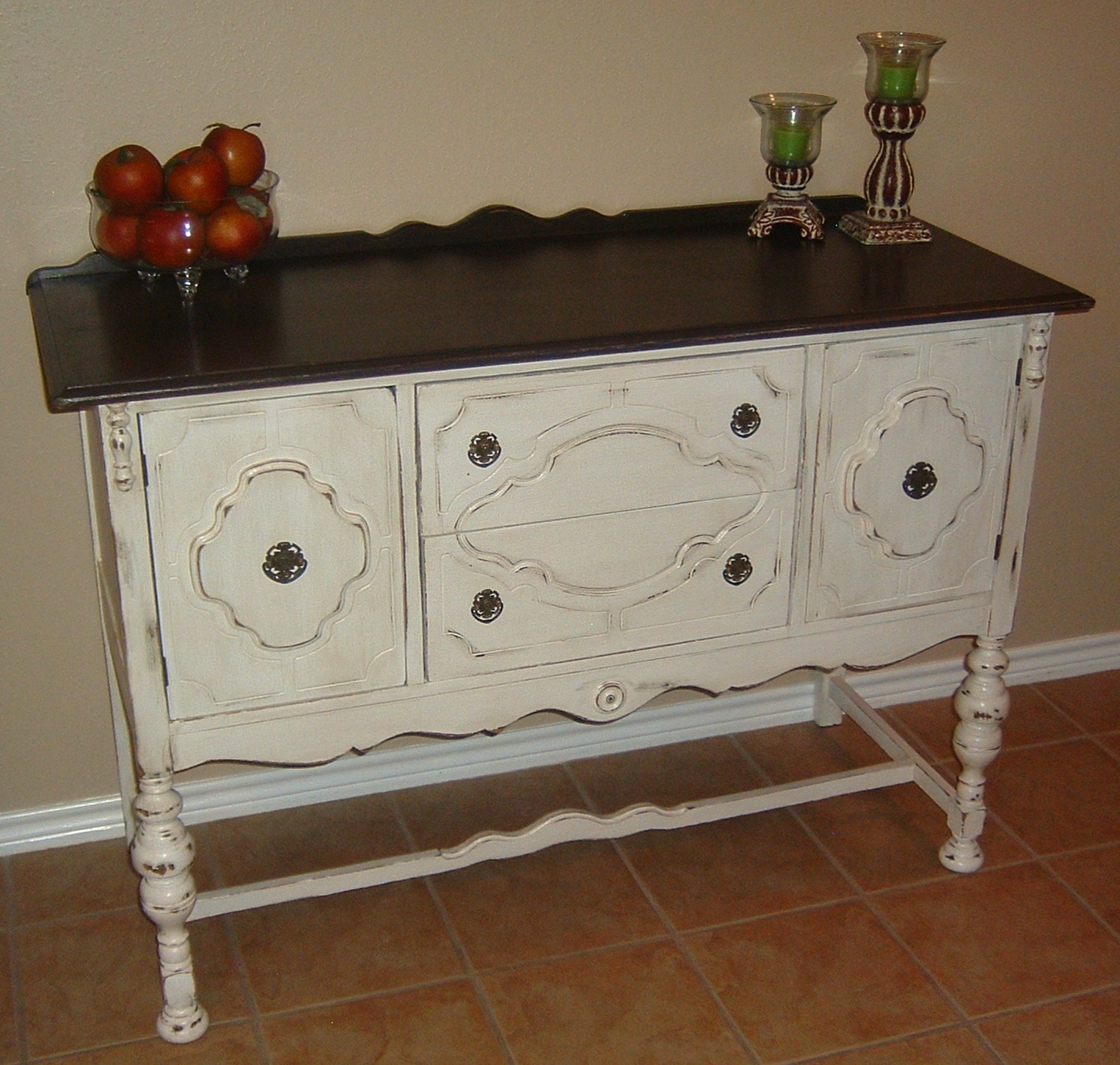 distressed furniture brown