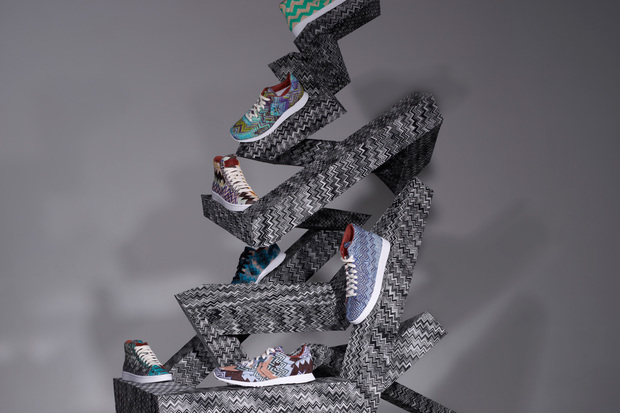 FALL WINTER 2012 COLLECTION MISSONI X CONVERSE