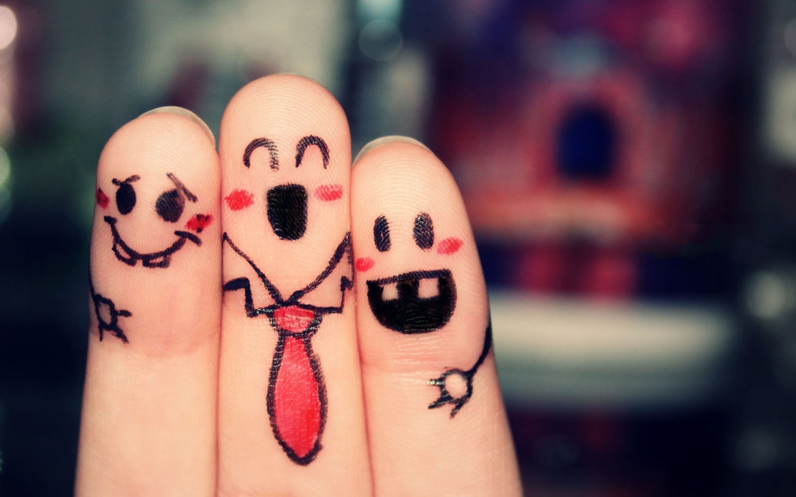 Finger love wallpaper for iPhone and Android | Funny wallpapers ...