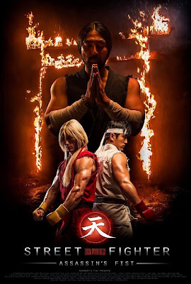 Assassins Fist first official poster Ken and Ryu Street Fighter: Punho do Assassino