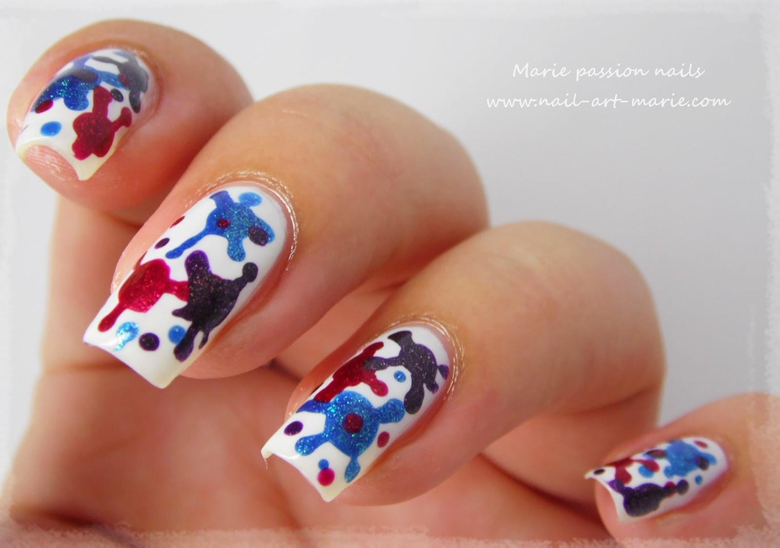 nail art taches de vernis2
