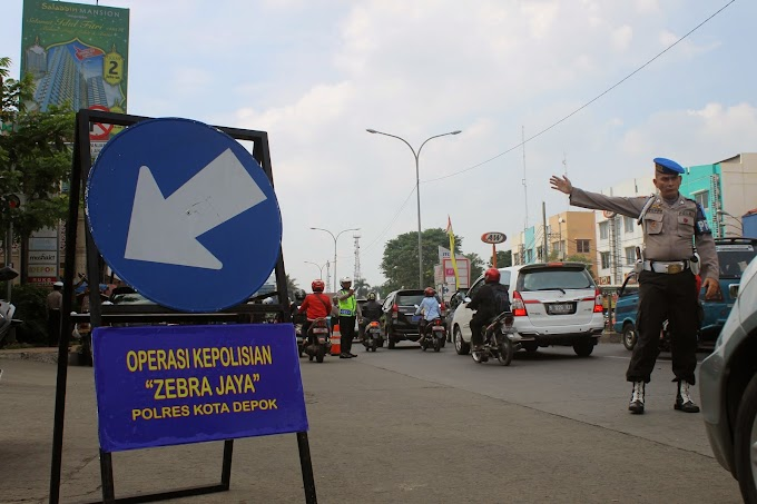 Operasi Zebra Hari Kedua, Satlantas Tindak 461 Pelanggar